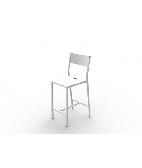 Chaise bar Up 75 ZEF - H 75 cm